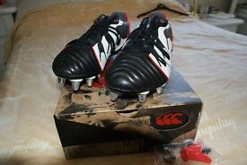 Canterbury Kaha Rugby Boots, Size 10, New.