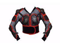 Motorcycle Motorbike Upper Body Dragon Armour Mesh Jacket