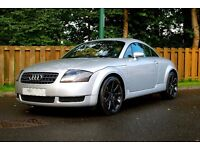 Gorgeous Audi TT Quattro, 4WD, REMAPPED, Full Leather, Full Service History, Just Serviced, New MOT