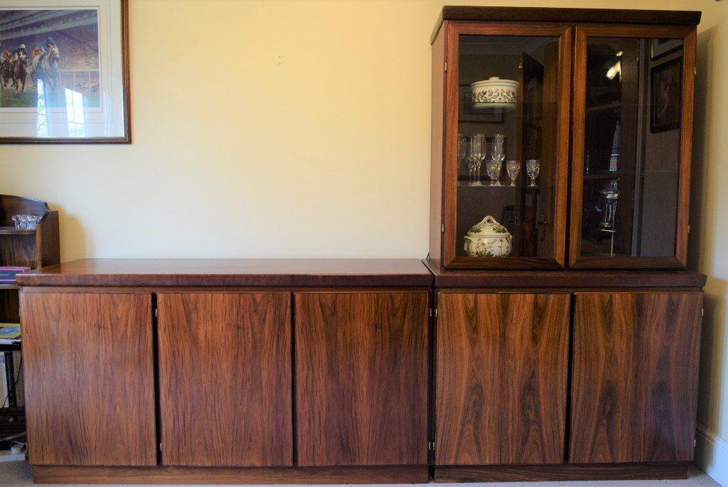 Skovby Rosewood Dining Room Furniture 3 Door Sideboard