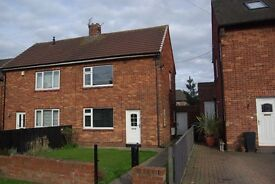 Lovely clean two bedroom unfurnished semi-detached house in popular area of Shiremoor.