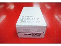 Samsung Galaxy S6 Edge 32GB gold platinum Any Sim Brand New £350