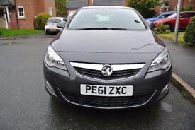 2011 (61) Vauxhall Astra Excite 1.4i 16v VVT (100PS) Technical Grey 5 Door Hatchback
