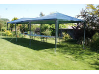 Party Tent/ Gazebo. Measures 3m x 9m. USED ONLY ONCE.