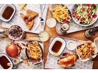 Full Time Grill Chefs for Immediate start. £8 p/h starting, rising after probation