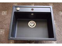 Schock Nemo Cristalite Single Bowl Topmount Sink with Waste for sale