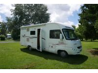 Motorhome A class Rapido superb condition solar and reversing camera