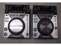 Pioneer CDJ-400 Pair £500