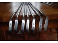 Golf clubs. Scotia by R Forgan, St Andrews, probably 1930's