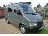 1997 Mercedes 208D Sprinter Campervan, Immaculate conversion and full year MOT