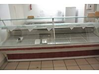 Used Serve over display counter refrigerated