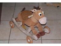 Toy Story Bullseye Ride-along / Rocking Horse