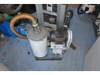 Heavy duty vacuum extraction system 24x7 operating capability