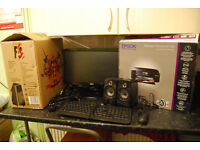 """BARGAIN ! Dell 545 Quad Core 2.33GHz, 4GB RAM, 500GB HDD, Power Color R7 260X, 20"""" Monitor AND MORE"""