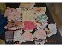 0-6 months baby bundle girl unisex over 40 items and 2 cot bumpers