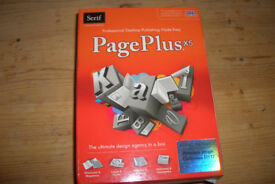 Page Plus X5. Serif desktop publishing package.