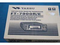 YaesuFT-7900R/E emetteur-recepteur VHF/UHF FM BI-BANDES