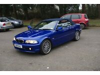 low mileage only 47000 - 2000 BMW 330CI convertible with hardtop