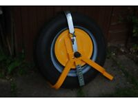 Trailer wheel clamp (new)