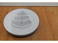 Opened But Unused Creative Tops Porcelain 3 Tier Cake Stand from John Lewis