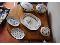 A selection of crockery/pottery