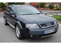 Audi A6 Allroad Quattro 2.5 TDI V6 180 BHP + Half Leather + MOT May 2018