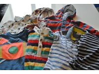 9-12 month old baby boys clothes bundle