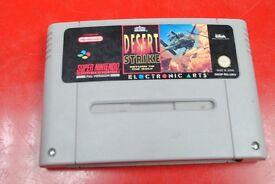 Super Nintendo SNES Game Desert Strike £45