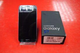 Samsung Galaxy S7 32GB Black Onyx O2/Tesco/GiffGaff Brand New £430