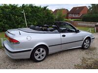 SAAB 9-3 LPT CONVERTIBLE 2003 116K FSH MOT JULY 2017 ONLY £1395 PROVISIONALLY SOLD DEPOSIT NOW TAKEN