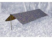 DPM Camouflage Woodland Basha /Tarp