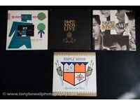 Collection of 4 Simple Minds Vinyl Records for Sale