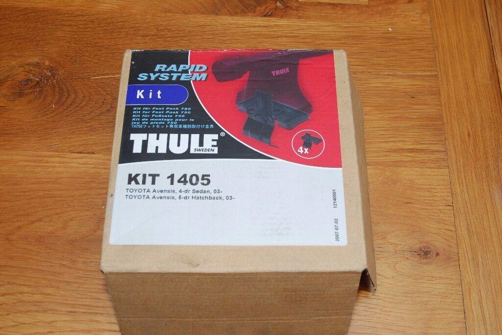 Thule Fitting Kit 1405 (Toyota Avensis 2003-08)