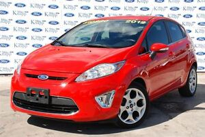 2012 Ford Fiesta SES Auto *Leather* Moon Roof*