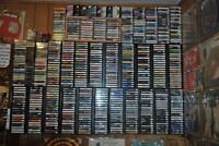 100s of GOOD ROCK METAL CASSETTE Tapes + VHS, 8-tracks & CD's!