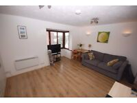 Good size studio apartment Built in wardrobes, separate kitchen, shower room. Off St parking.