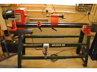 Myford Mystro woodturning lathe