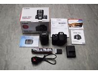 Canon EOS 100D with EF-S 18-55 IS STM Kit Lens £300