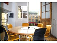 Office space for up to 4 people within a creative hub in a warehouse in Bleeding Heart Yard, EC1