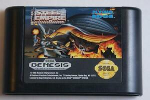 Steel Empire - Sega Genesis Game - Great Shooter!