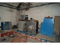 4 Natural Gas-Fired Unit Industrial Heaters