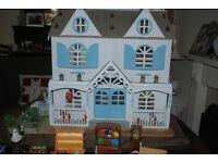 Beautiful Handmade Dolls House plus 250 accessories