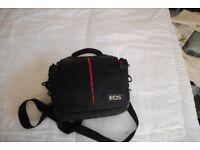 Canon EOS Camera Bag - L - 29 cm x W - 15 cm x H - 24 cm. Up to three compartments.