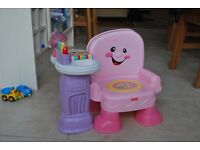 Fisher Price Laugh and Learn Pink Musical Chair
