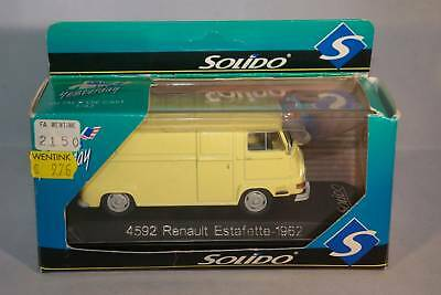 SOLIDO 4592 RENAULT ESTAFETTE 1962 MINT BOXED
