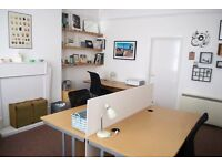 Rent a full or part time desk space from us in July and get your first month free!!!