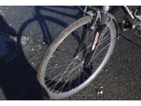 15 Inch Ladies'/Girls town bike black second hand