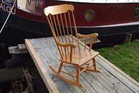 Spindleback rocking chair