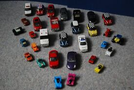 Bundle of toy cars (16 + 15 miniatures)
