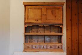 Antique pine dresser top